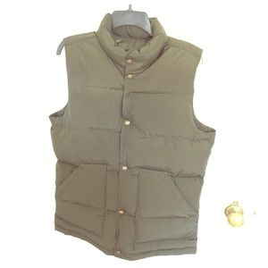 Lands' End Men's Puffer Vest